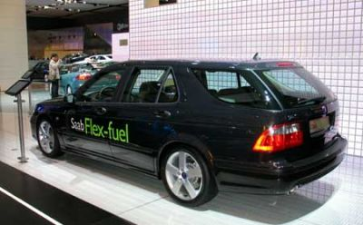 Saab 9-5 Flex-Fuel