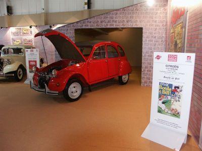 Mondial Auto 2004 - Expo Bande Dessinée