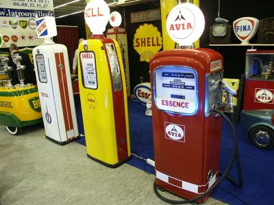 Retromobile 2005 - Station Service