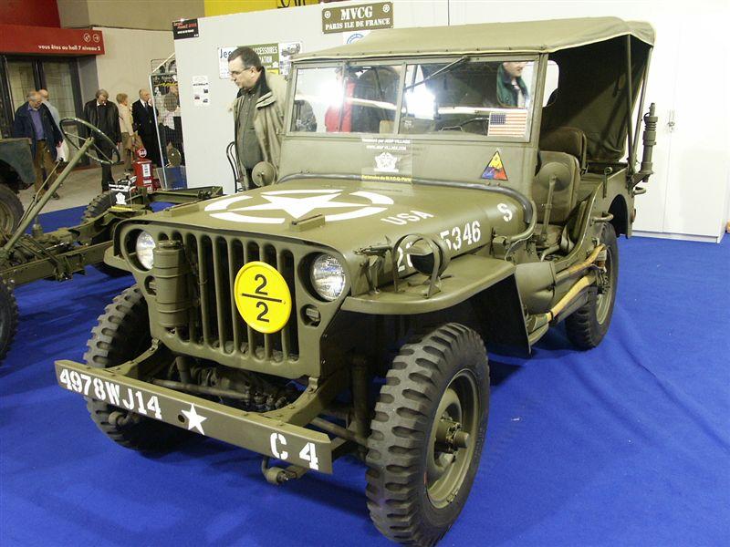 Jeep - Retromobile 2005
