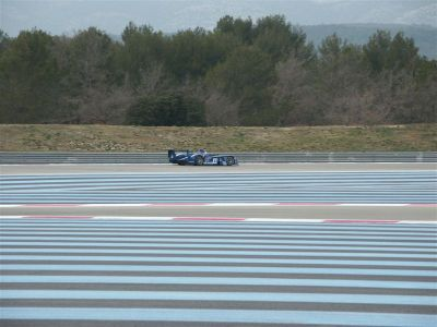 Audi R8 Oreca Playstation (Essais privés Castellet)
