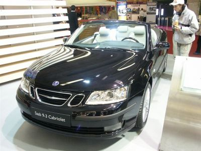 Saab 9-3 Cab et Rétro