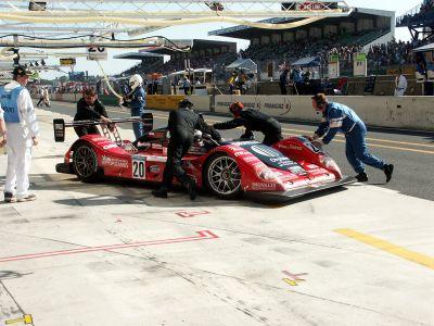 Le Mans 2005 - Stands
