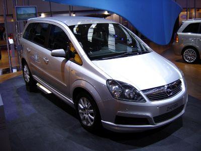 Opel Zafira Gaz