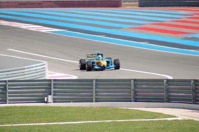Essai Renault F1