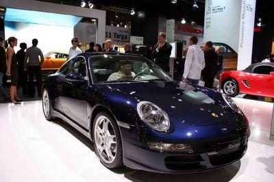Porsche 997 Targa