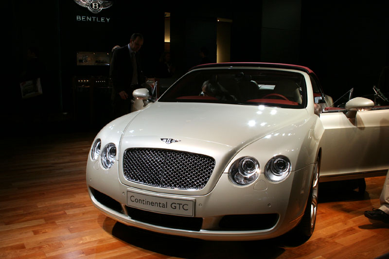 Bentlery Continental GTC