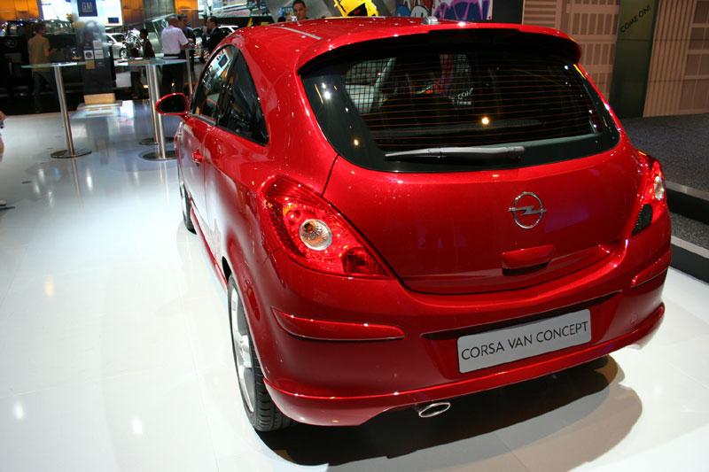 Albums Photos Opel Corsa Van Concept