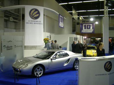 Mondial 2002 : les stands