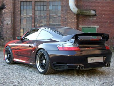 Edo Competition Porsche 996 Turbo - VW Touareg V10 TDI