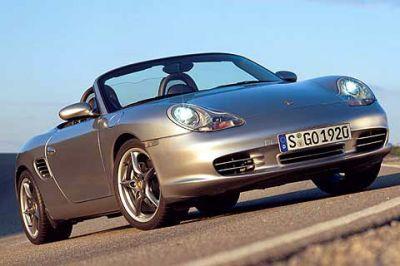Porsche Boxster 50 ans