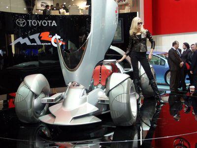 Toyota triathlon race car