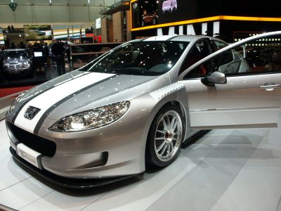 Peugeot 407 silhouette