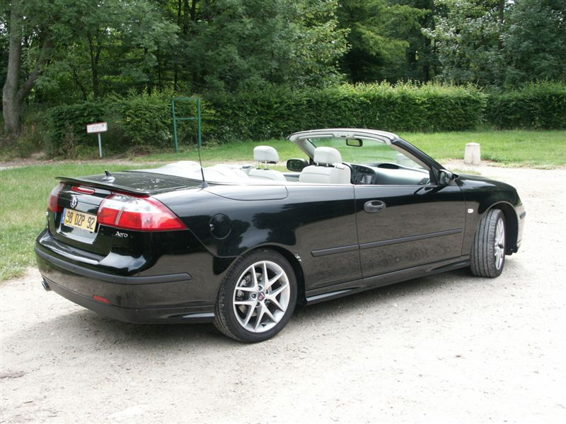 albums photos saab 9 3 cabriolet aero. Black Bedroom Furniture Sets. Home Design Ideas