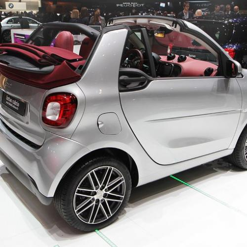 Smart ForTwo Brabus Edition #2 et ForFour CrossTown