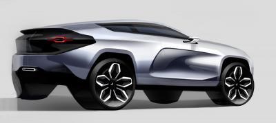 Croquis Alpine SUV (non-officiels)