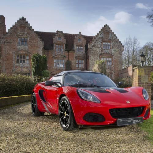 Lotus Elise Sprint (officiel - 2017)