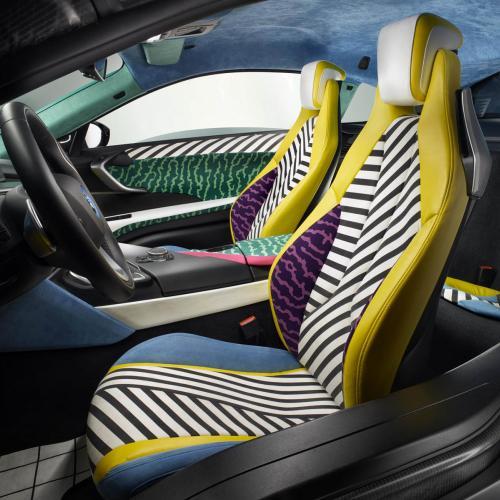 BMW i3 et i8 Memphis Design Edition