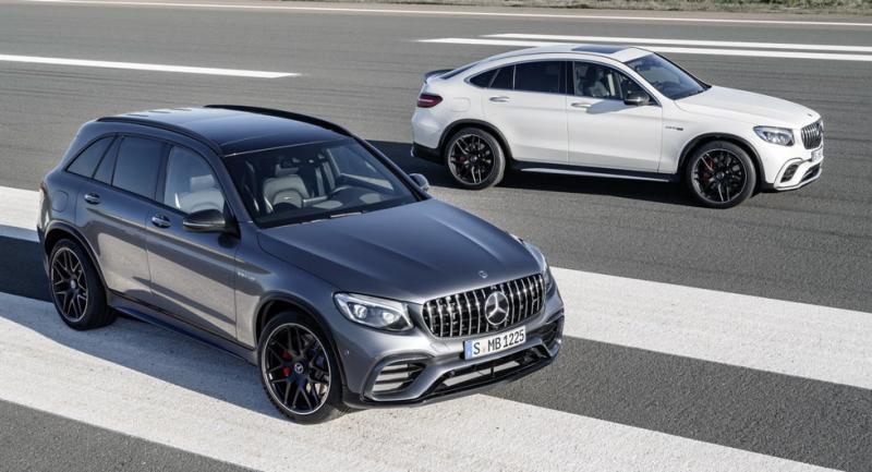 Mercedes-AMG GLC 63 et GLC 63 Coupé 2017