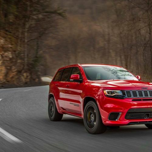 Jeep Grand Cherokee Trackhawk (officiel - 2017)