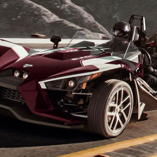 Polaris Slingshot Midnight Cherry