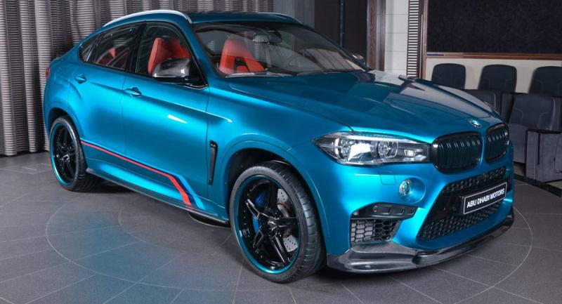 BMW X6M par BMW Abu Dhabi