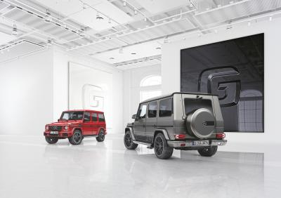Mercedes Classe G design manufaktur et Exclusive Edition