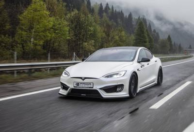 Tesla Model S : un kit carrosserie signé Prior Design