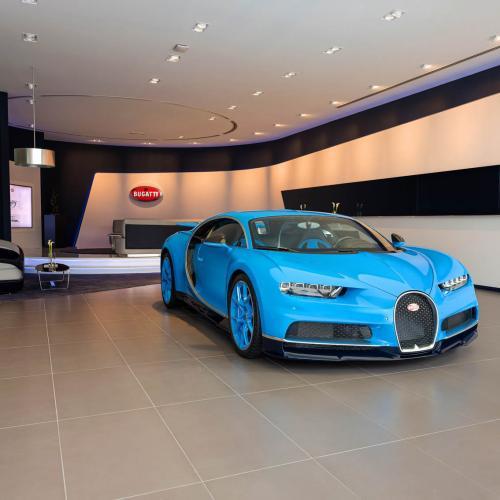 Bugatti - showroom de Dubaï