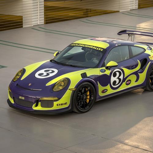 Une Porsche 911 GT3 RS s'habille en 917 Hippie