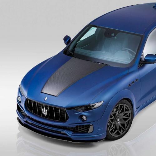 Maserati Levante Esteso par Novitec Tridente