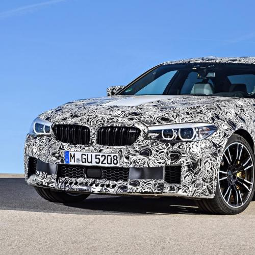 Prototype BMW M5 2017