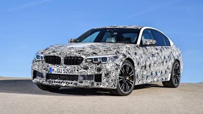 Prototype BMW M5 2017