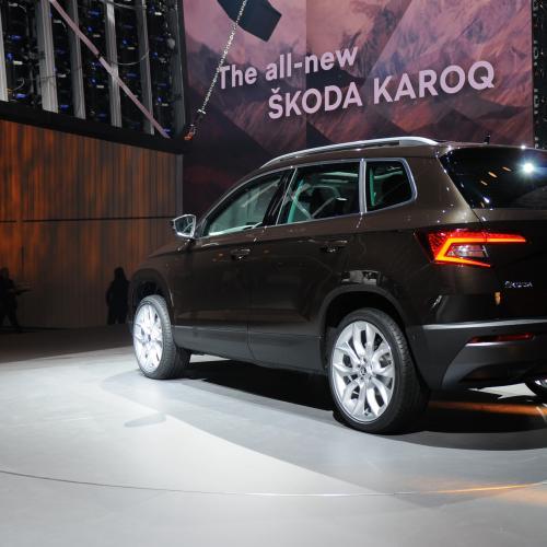 Skoda Karoq (reveal - 2017)