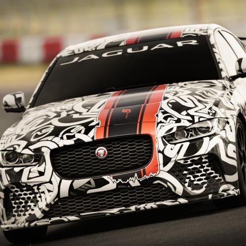 Jaguar XE Project 8 (prototype)