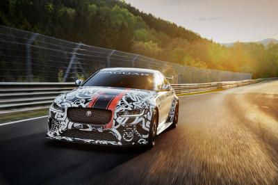 Jaguar XE Project 8 (prototype)