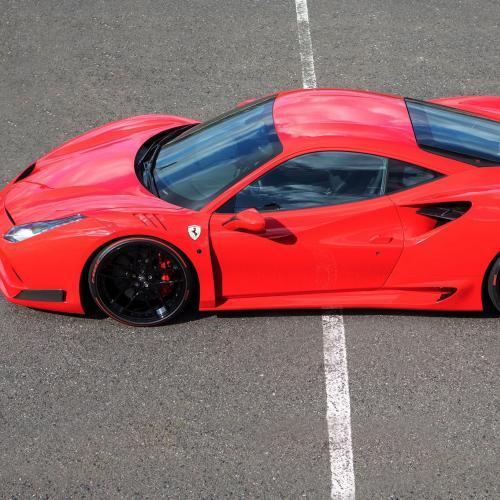 Ferrari 488 GTB N-Largo par Novitec Rosso