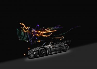 BMW M6 GT3 Art Car virtuelle