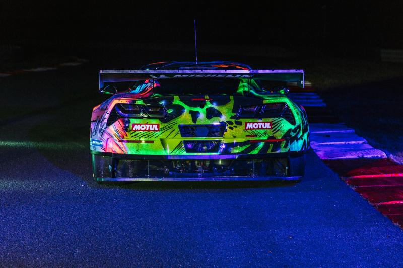 Chevrolet Corvette C7R Art Car 2017