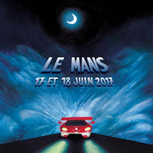 Les 24 Heures du Mans 2017 en 24 affiches