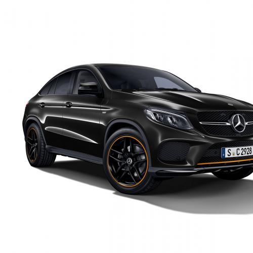 Mercedes GLE Coupé OrangeArt