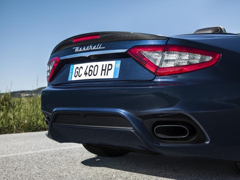 Maserati GranTurismo et GranCabrio 2018