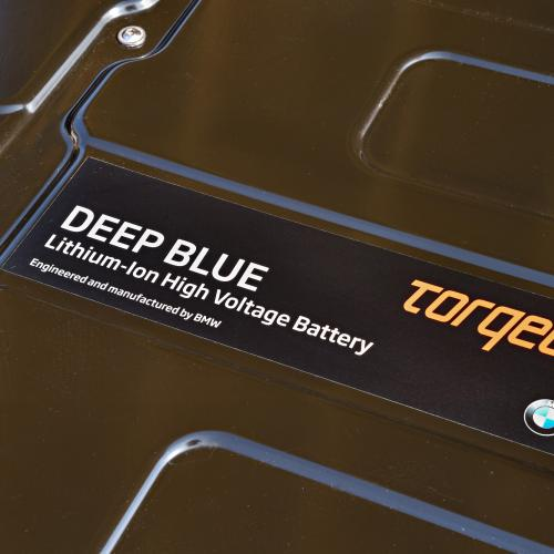 BMW i3 - Torqeedo Deep Blue