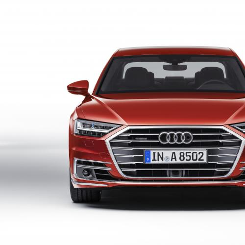 Audi A8 (officiel - 2017)
