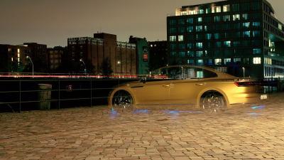 La Volkswagen Arteon immortalisée par un photographe non-voyant