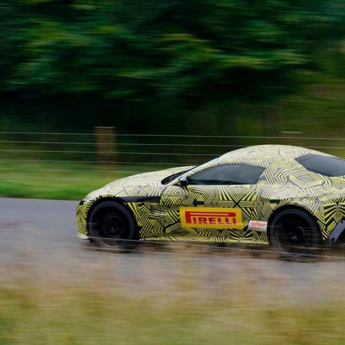 Nouvelle Aston Martin Vantage (2018) Spyshots officiels