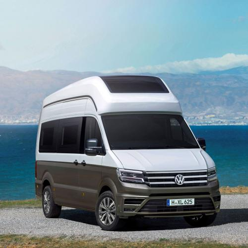 volkswagen california concept xxl le crafter passe en mode camping car. Black Bedroom Furniture Sets. Home Design Ideas