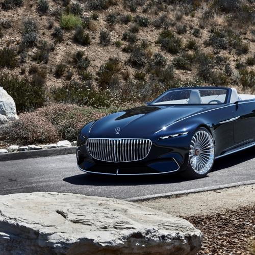 albums photos mercedes maybach vision 6 cabriolet. Black Bedroom Furniture Sets. Home Design Ideas