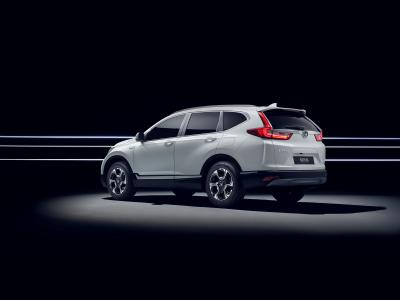 Honda CR-V Hybrid Prototype 2018