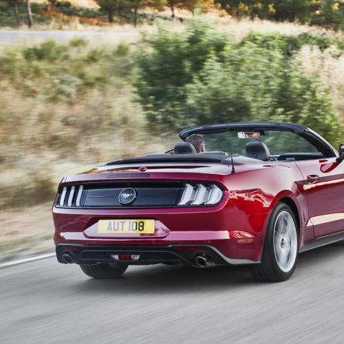 Ford Mustang restylée 2018